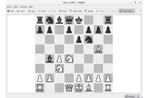 Knights - Chess game for KDE - LinuxLinks