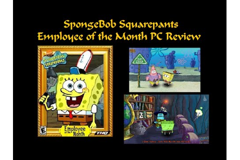 SpongeBob Squarepants: Employee of the Month Review - YouTube