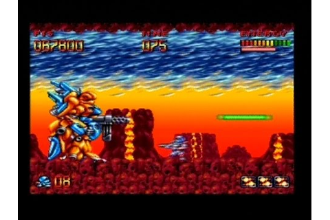 SUPER TURRICAN (SNES - FULL GAME) - YouTube