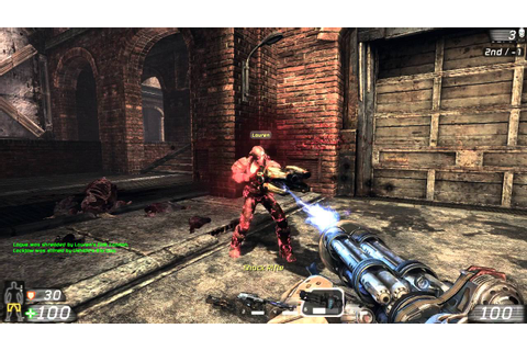 Unreal Tournament 3 (PC) Deathmatch Gameplay - Defiance ...