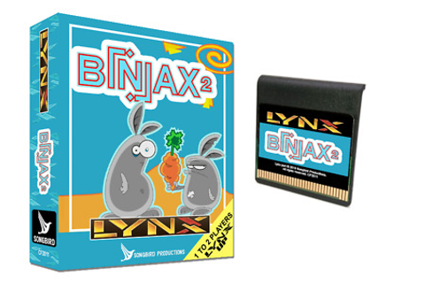 Biniax + Biniax 2 for the Atari Lynx Songbird NEW FOR 2020 ...