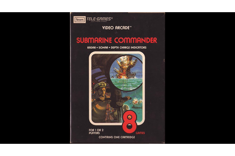 Favorite Atari 2600 Games of Willie! Submarine Commander ...