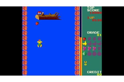 Arcade Game: Swimmer (1982 Tehkan) - YouTube