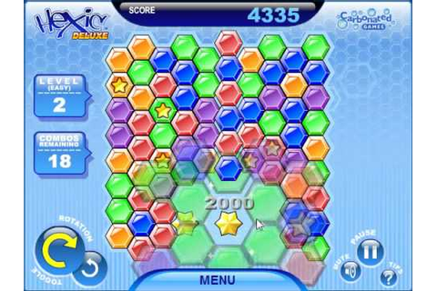 Hexic Deluxe Game Play - YouTube