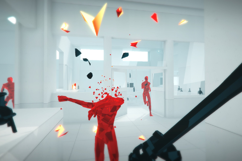 Superhot VR is a whole new game, built for the Oculus ...