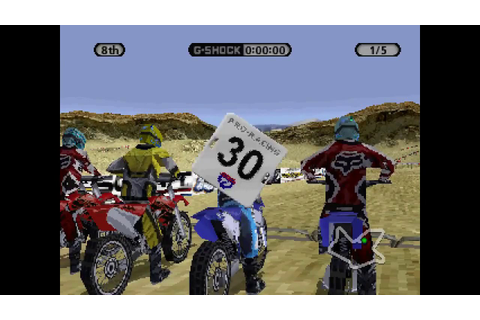 Super Cross Circuit ... (PS1) - YouTube