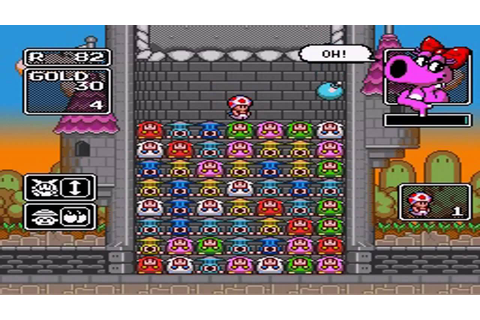 Wario's Woods - Round Game - Levels 80 - 99 + Ending + Lvl ...