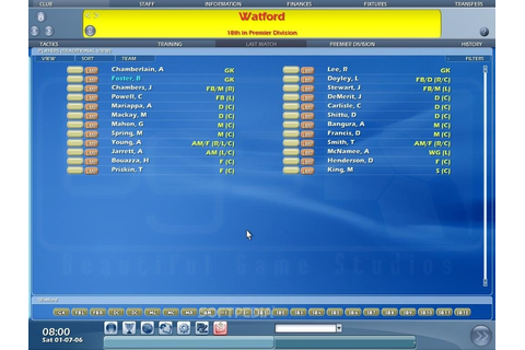 Championship Manager 2007 Demo Download