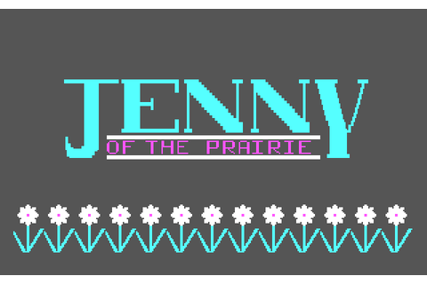 Jenny of the Prairie (1985) by Addison-Wesley Publishing ...