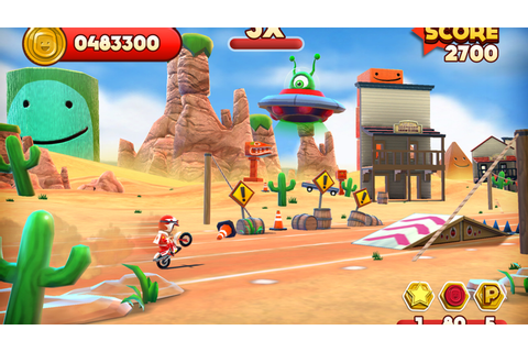 'Joe Danger Touch' was born on PlayStation, but thrives on ...
