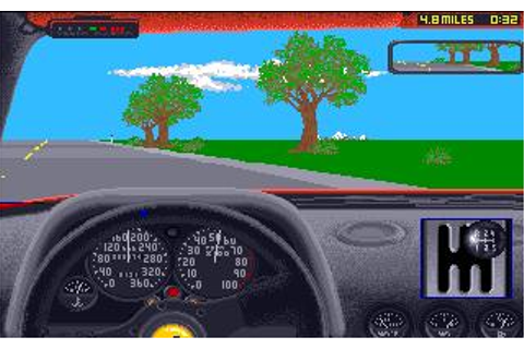 Test Drive 2: The Duel Download (1989 Amiga Game)