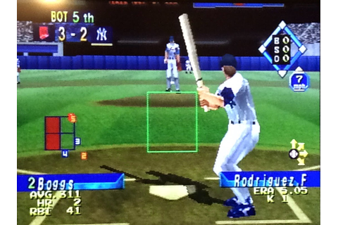 DANIEL thomas VOL 4: World Series Baseball 98 (Saturn ...