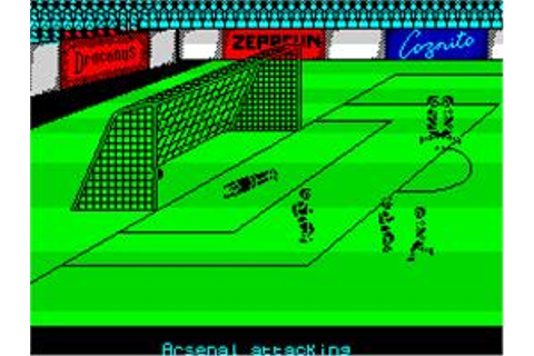 Kenny Dalglish Soccer Manager - Sinclair ZX Spectrum ...