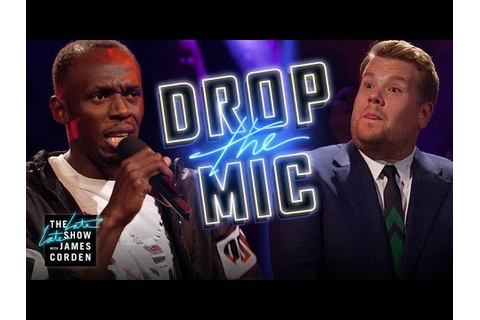 Drop the Mic w/ Usain Bolt - YouTube