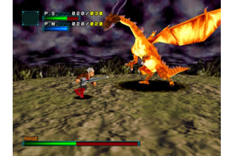 Dragon Valor (1999) by Namco PS game