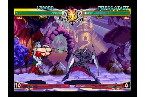 Darkstalkers 3 [PS1] - play as Jedah - YouTube
