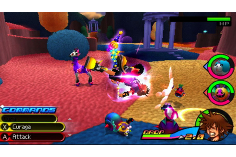 Download Kingdom Hearts 3D: Dream Drop Distance 3DS GAME ...