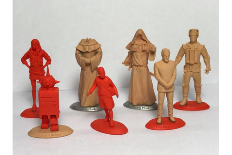 Preview - Prototype Doctor Who Game Models From Warlord ...