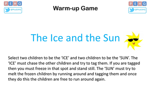 Primary PE Warm-up Games by PEHQ - Teaching Resources - Tes