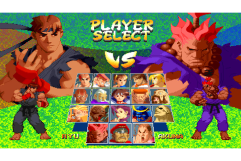 Play Street Fighter Alpha 2 Online - SNESLive