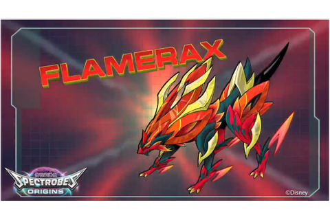 Flamerax | Spectrobes Wiki | FANDOM powered by Wikia