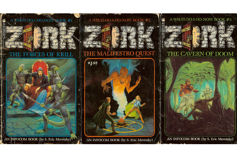 The Adventure Gamer: Zork Marathon: 1983 Books & Yearly ...
