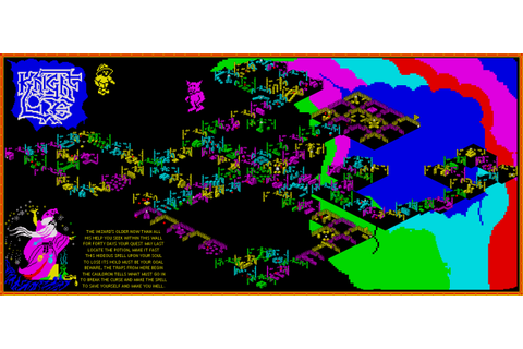 Knight Lore - The Map