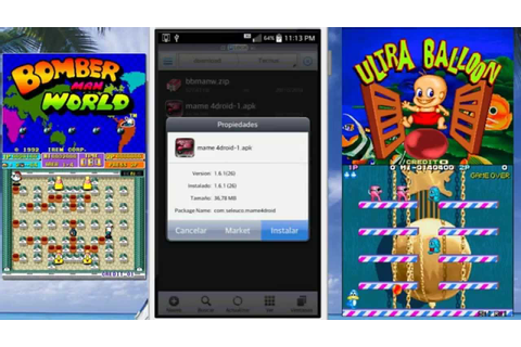 BomberMan World y Ultra Balloon Para Android - YouTube