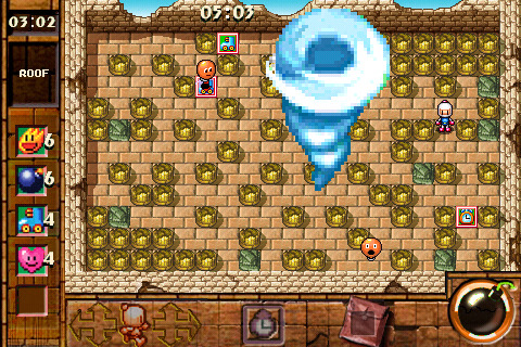 Bomberman Touch - The Legend of Mystic Bomb App for iPad