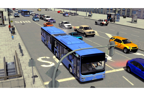 City Bus Simulator Munich Free Download PC Game