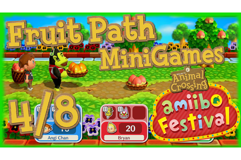 ABM: AC Mini Games *Fruit Path* Gameplay 4/8 - YouTube