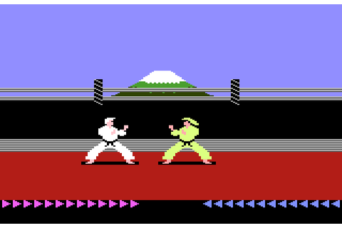 Review: Karateka for Atari 7800