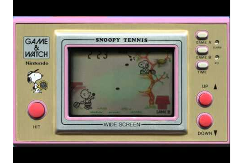 GW スヌーピーテニス Snoopy Tennis - YouTube