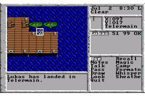 The Magic Candle II - The Four and Forty (1991) MS-DOS game