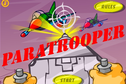 Paratrooper Game - Retro games - Games Loon