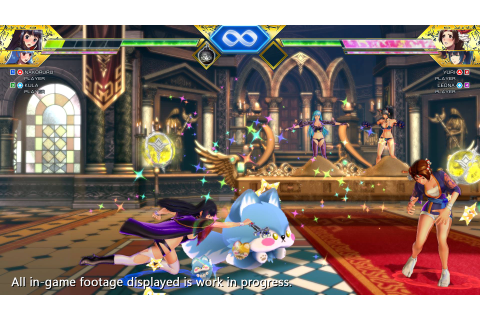 SNK Heroines: Tag Team Frenzy - TFG Preview / Art Gallery