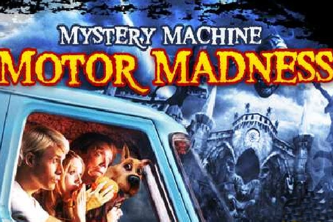 Scooby Doo Mystery Machine Motor Madness Game - Photo ...