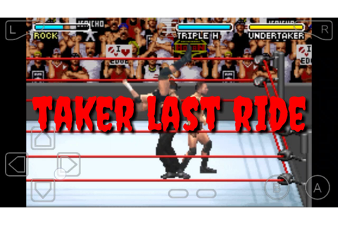 WWE WRESTLEMANIA X8 GBA GAME FOR ANDROID - YouTube