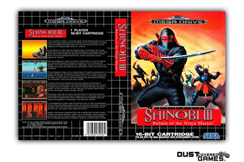 Shinobi III: Return of the Ninja Master GEN Genesis Game ...
