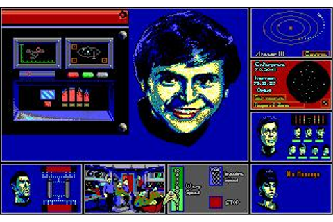 Star Trek: The Rebel Universe Download (1988 Adventure Game)