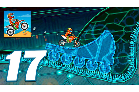 Moto X3M Bike Race Game Cyber World All Levels - Gameplay ...