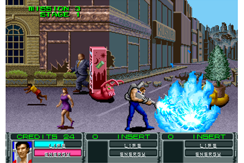 headcaseGames-Blog: Retro Game of the Day! Alien Storm