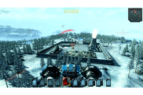 Carrier Command Gaea Mission Official HD game launch ...