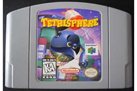 Amazon.com: Tetrisphere - Nintendo 64: Video Games