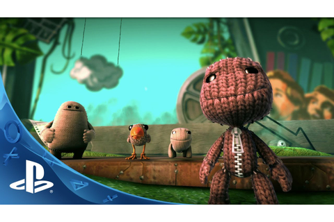 LittleBigPlanet 3 - E3 2014 Announce Trailer (PS4) - YouTube