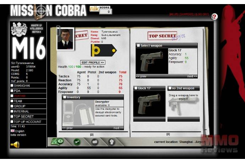 Mission Cobra Reviews - Mission Cobra MMORPG - Mission ...