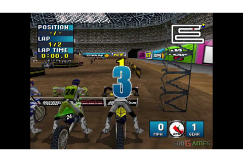 Jeremy McGrath Supercross 2000 - Gameplay PSX / PS1 / PS ...