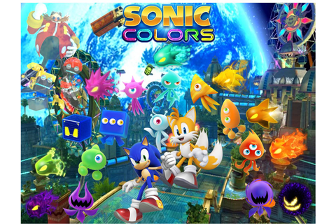 [49+] Sonic Colors Wallpaper on WallpaperSafari