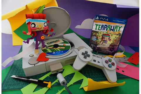 PlayStation + Tearaway Unfolded - www.chloefleury.com