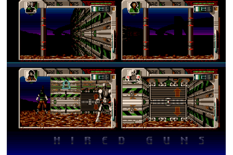 Hired Guns : The Company - Classic Amiga Games